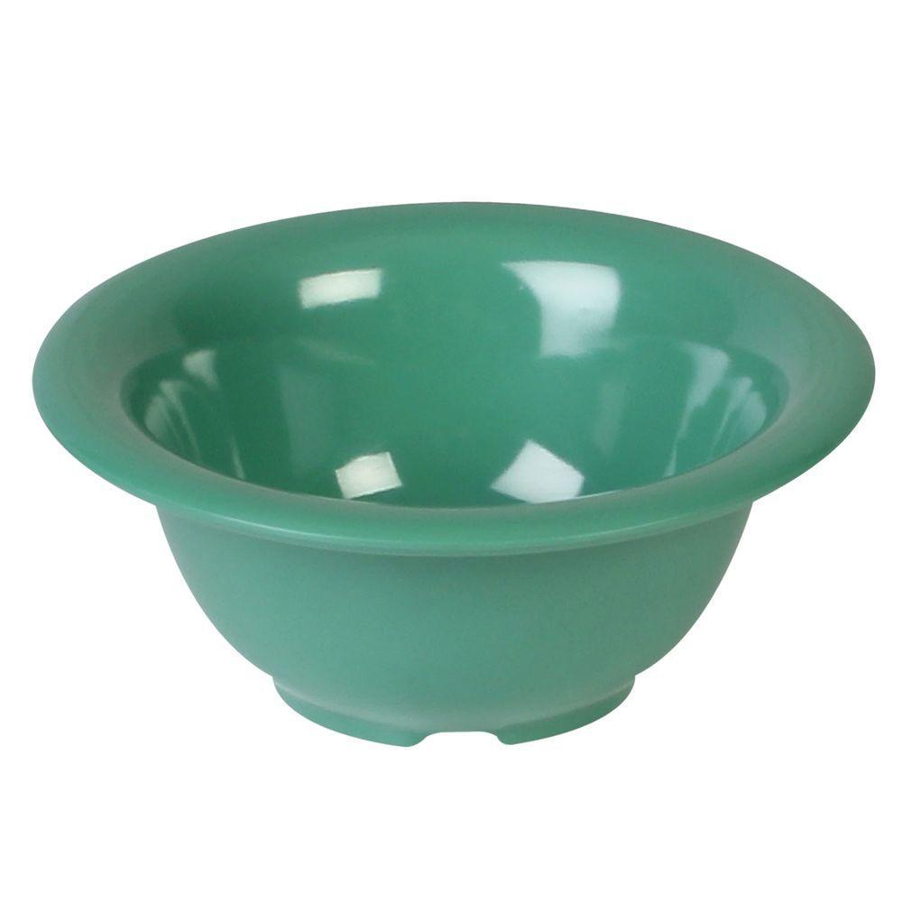 Coleur 10 oz., 5-1/2 in. Soup Bowl in Green (12-Piece)