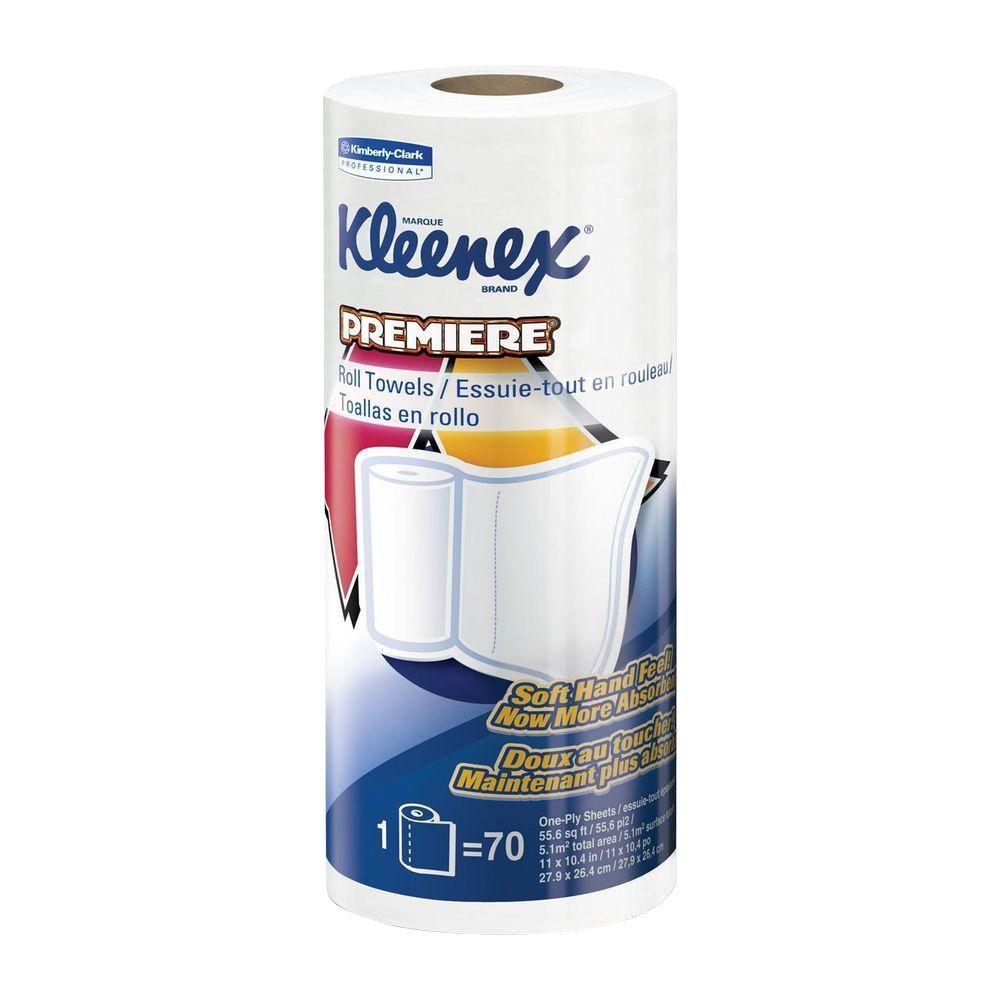 Paper Towels 1-Ply (70 Sheets Per Roll)