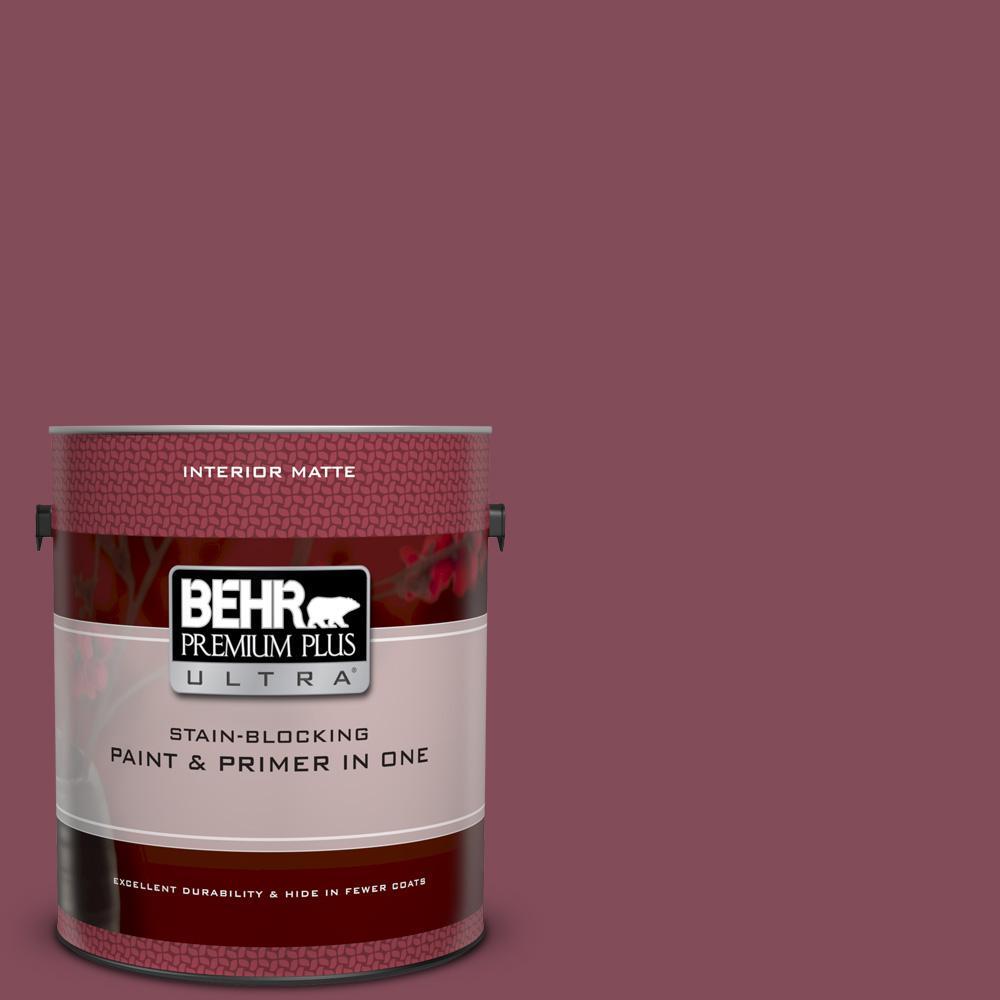 Ppu1 15 So Merlot Matte Interior Paint