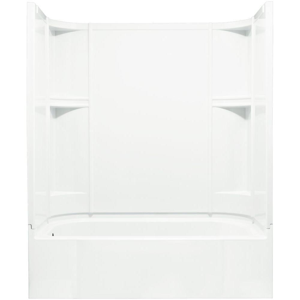 STERLING Accord 30 in. x 60 in. x 72 in. Bath and Shower Kit in ...