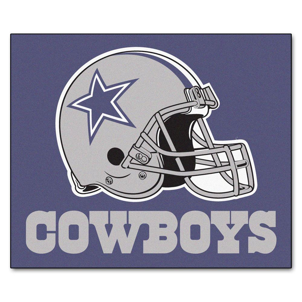 Fanmats Dallas Cowboys 5 Ft X 6 Ft Tailgater Rug 5728