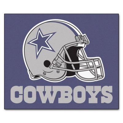 Dallas Cowboys 5 ft. x 6 ft. Tailgater Rug
