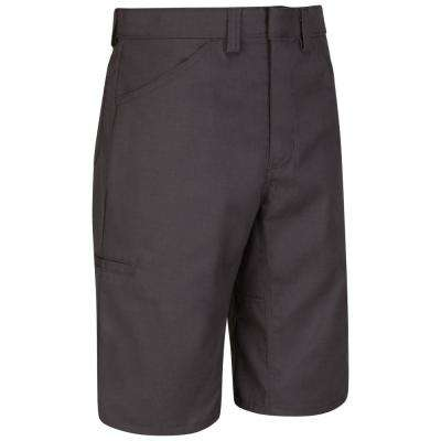 Men's 32 in. x 13 in. Charcoal Lightweight Crew Short