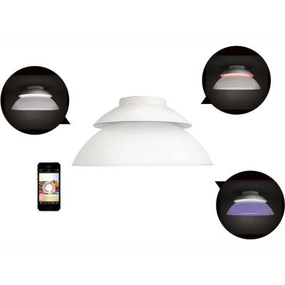 White and Color Ambiance Beyond LED Dimmable Smart Ceiling Light