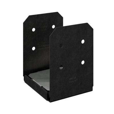 Outdoor Accents Avant Collection ZMAX, Black Powder-Coated Post Base for 8x8 Rough Lumber