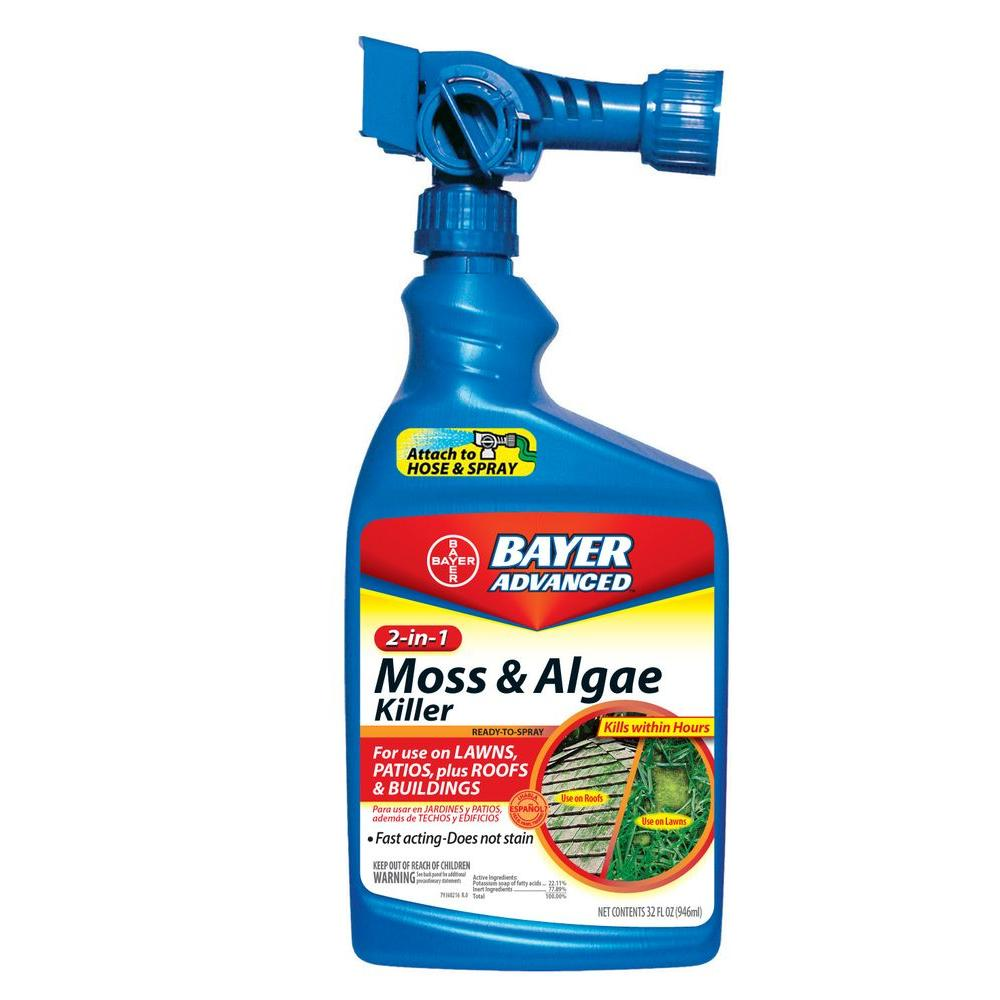 32 oz. Ready-to-Spray 2-in-1 Moss and Algae Killer