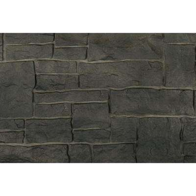 Stacked Stone 45 in. x 20-1/4 in. Polymer Onyx Siding (10-Pack)