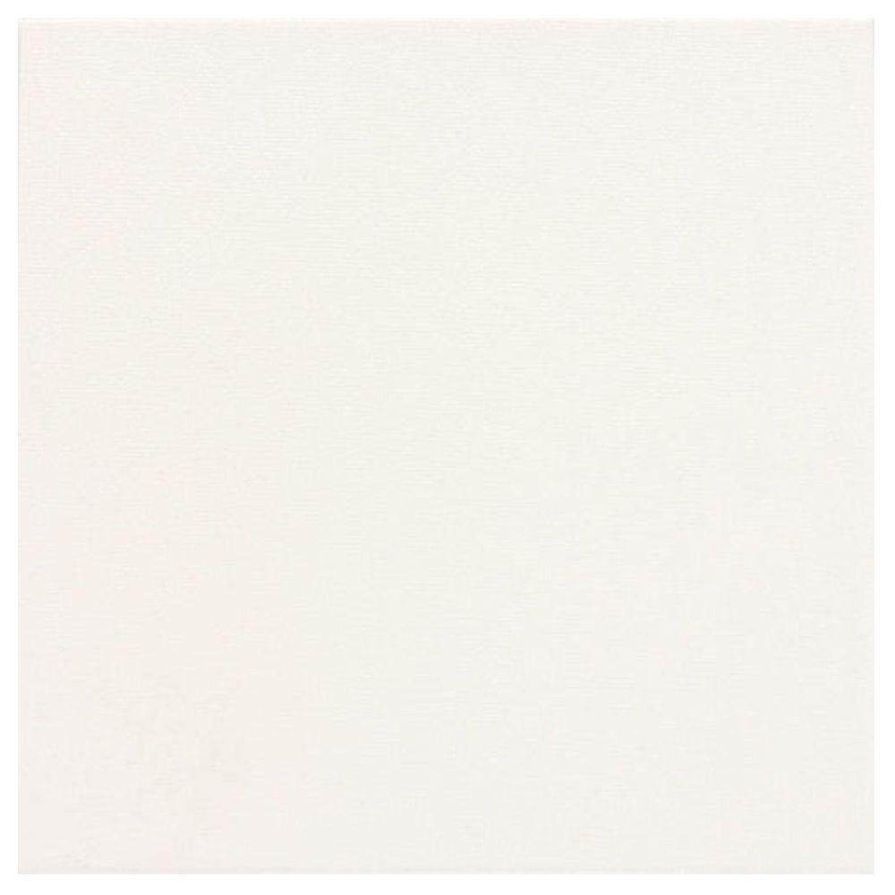 Daltile Colour Scheme Arctic White Solid 12 in. x 12 in. Porcelain Floor and Wall Tile (15 sq. ft. / case)