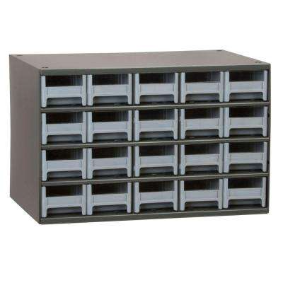 20-Drawer Small Parts Steel Cabinet