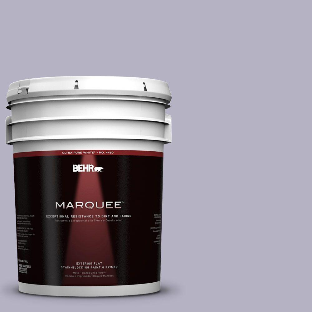 BEHR MARQUEE 5-gal. #640F-4 Fading Sunset Flat Exterior Paint