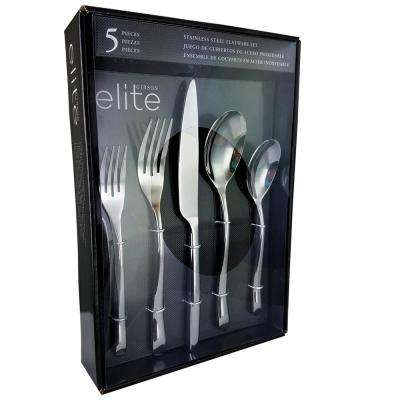 Altmore 5-Piece Stainless Steel Flatware Set