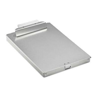 Spring-Loaded Aluminum Form Storage Clipboard