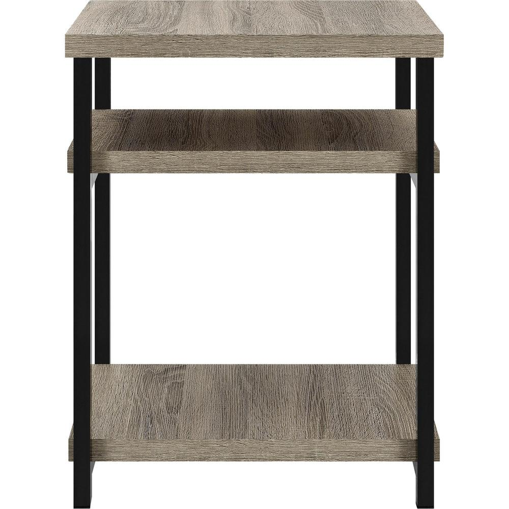 Ameriwood Seneca Weathered Oak End Table
