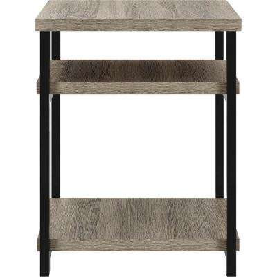 Seneca Weathered Oak End Table