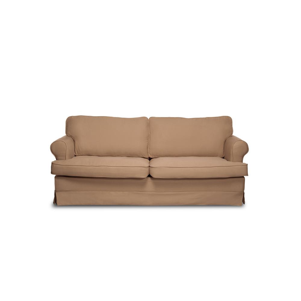 Sofas 2 go spencer khaki sofa s2g m4 s sky544 the home depot for Sofas to go