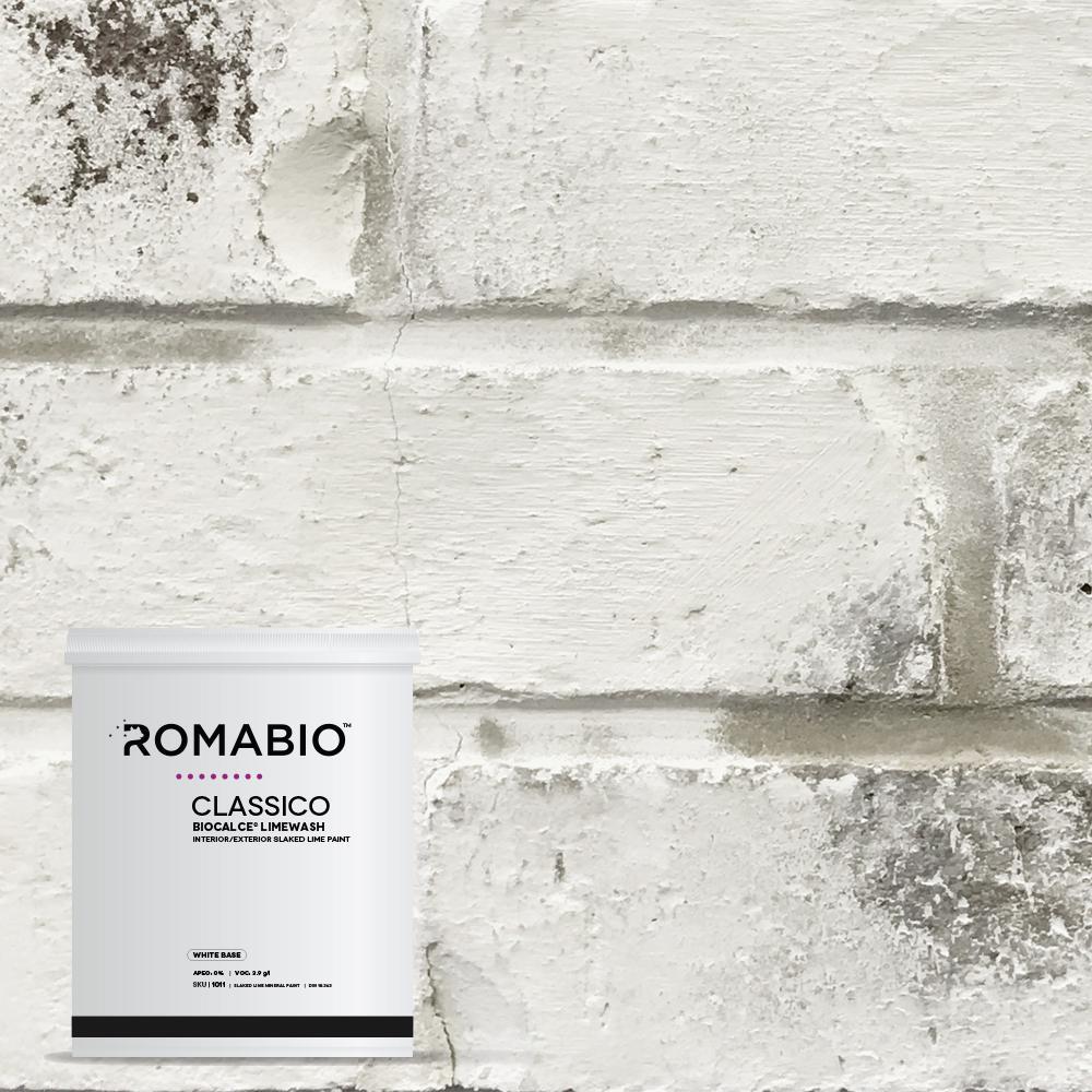Home Depot Exterior Paint Prices: 1 Qt. Avorio White Limewash Interior/Exterior Paint-10112