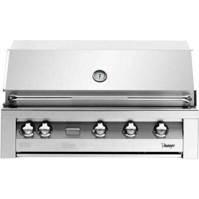 42 in. Built-In Liquid Propane Gas Grill with Sear Zone