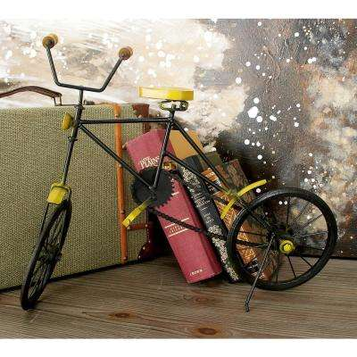 19 in. x 15 in. Vintage Decorative Iron Bicycle Replica