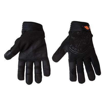Journeyman Large Black Wire Pulling Gloves