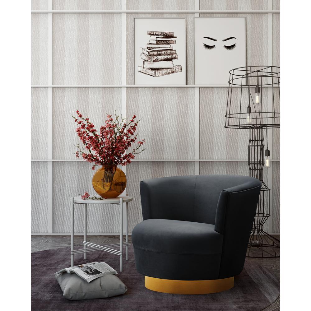 Noah Black Swivel Chair