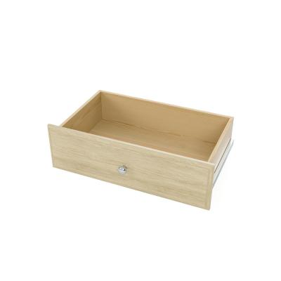 8 in. H x 24 in. W Harvest Grain Wood Deluxe Closet Drawer Kit