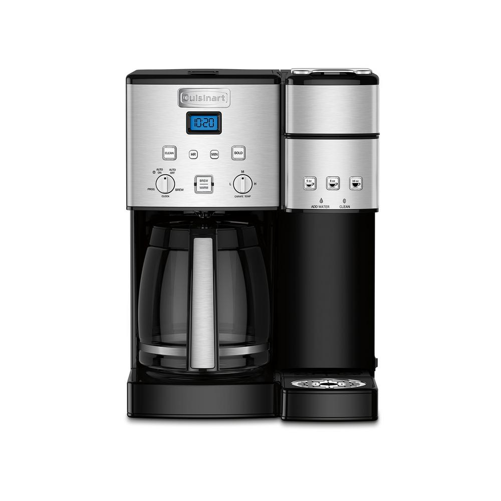 Cuisinart Coffee Center 12 Cup Coffeemaker And Single Serve Brewer