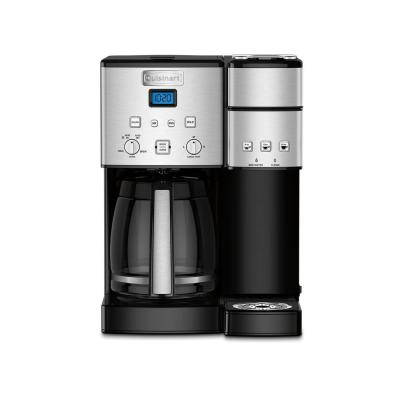 Coffee Center 12-Cup Stainless Steel Coffee Maker and Single-Serve Brewer