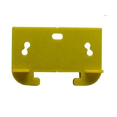 1-5/16 in. Yellow Plastic Drawer Track Guide (2-Pack)