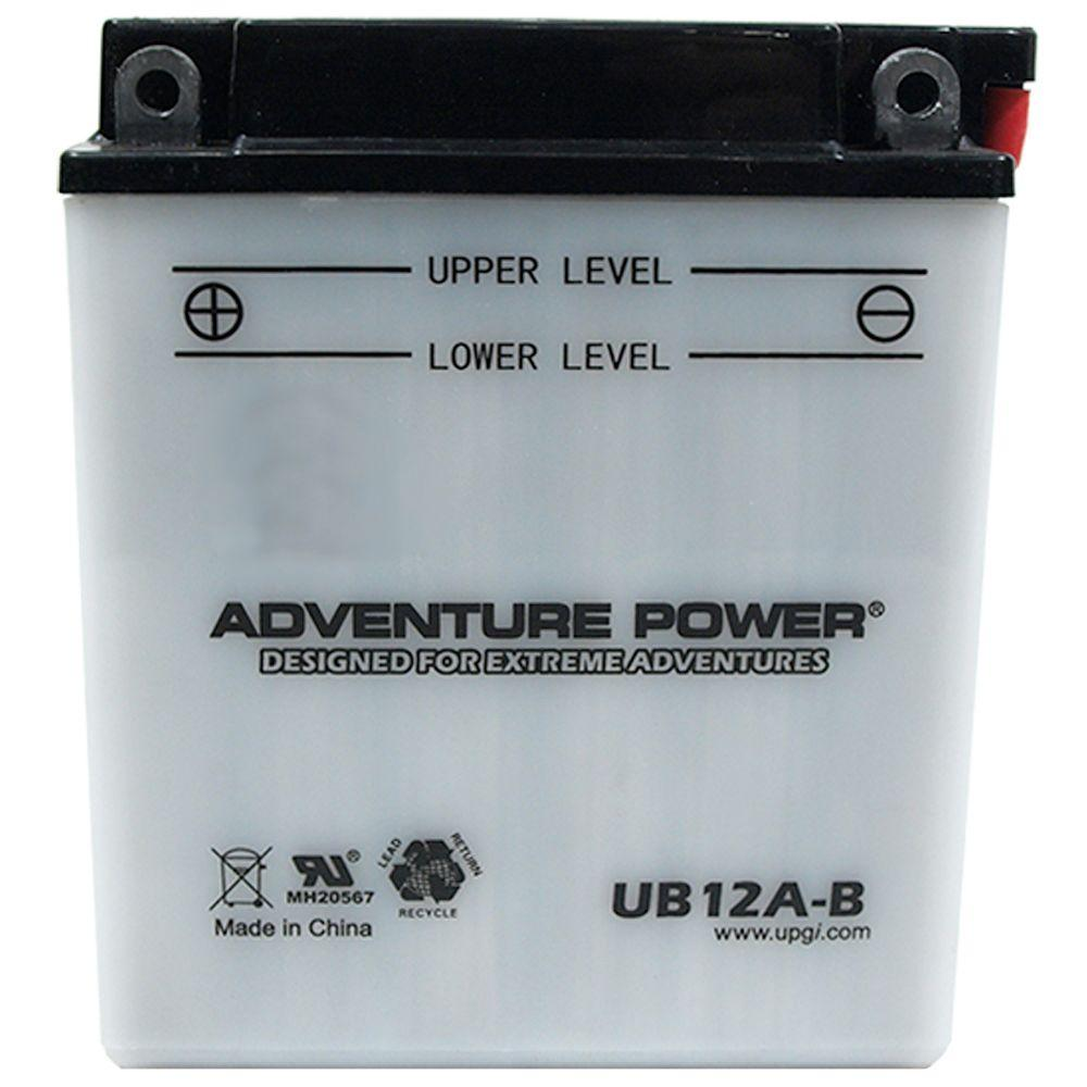 UPG Conventional Wet Pack 12-Volt 12 Ah Capacity F Terminal Battery