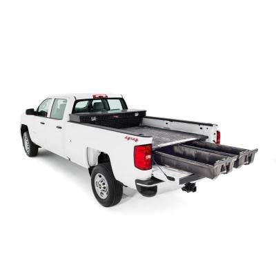 6 ft. 5 in. Pick Up Truck Storage System for GM Sierra GMT 900 or Silverado 8 ft. Bed Length (2007-Current)