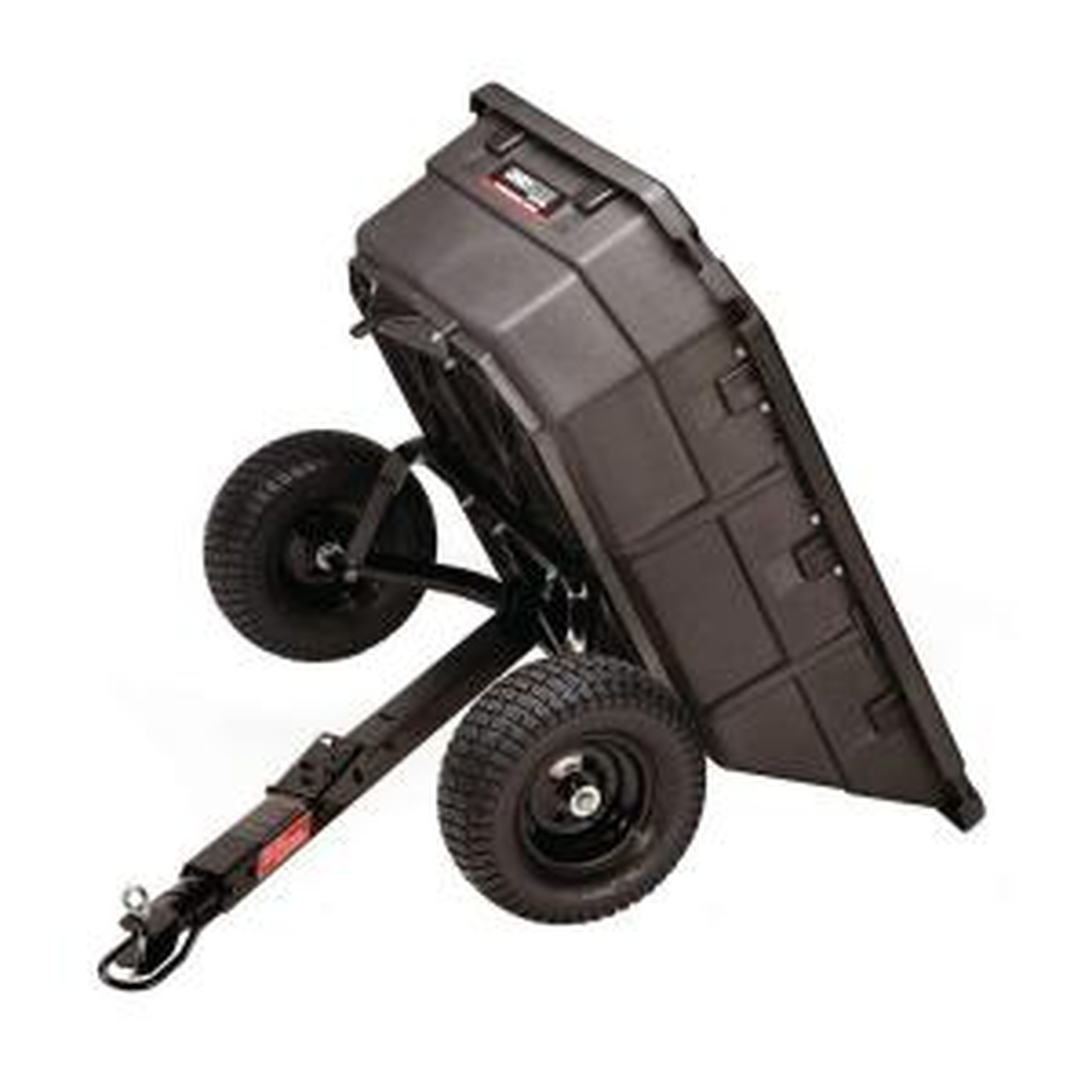 Ohio Steel 12.5 cu. ft. 1250 lb. Professional Grade Swivel Dump Cart by Ohio Steel