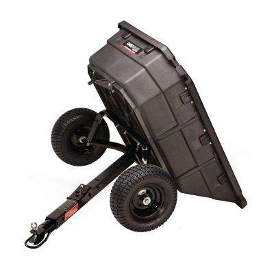 12.5 cu. ft. 1250 lb. Professional Grade Swivel Dump Cart