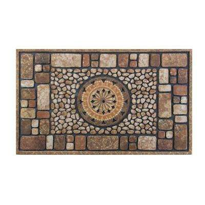 Stone 18 in. x 30 in. Door Mat