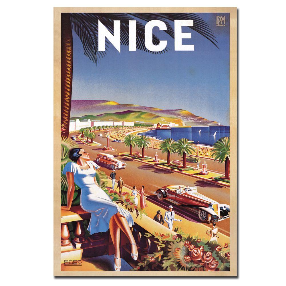 Trademark Fine Art 47 in. x 30 in. Nice De Hey Canvas Art
