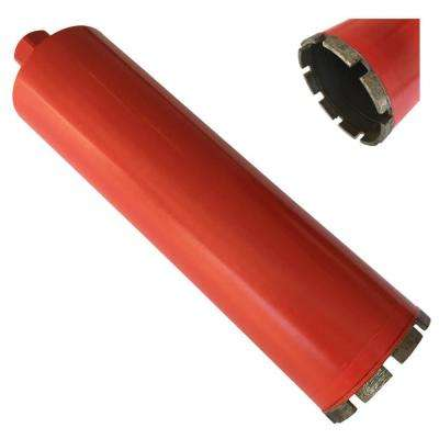 3 in. x 14 in. Wet Diamond Core Bit for Concrete and Masonry