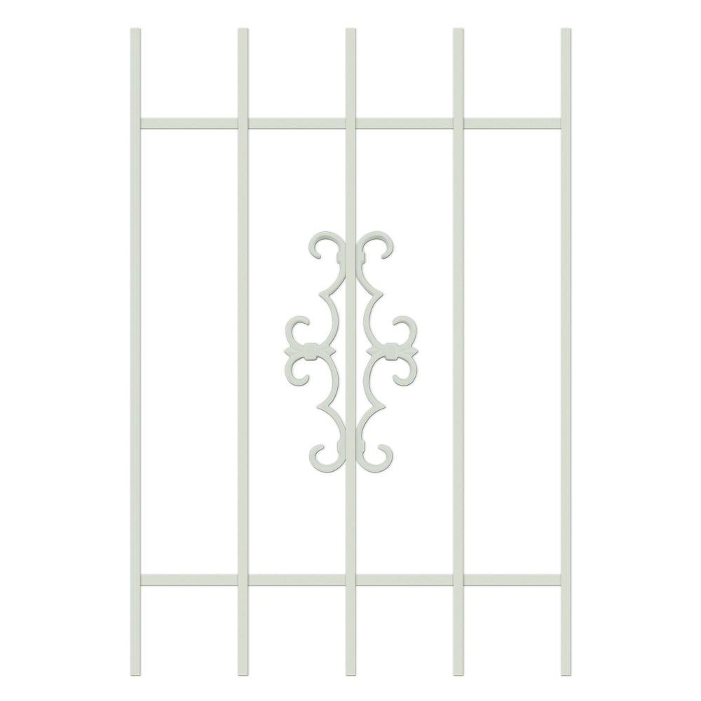 Unique Home Designs Watchman Trio 24 in. x 36 in. Almond 5-Bar Window Guard-DISCONTINUED