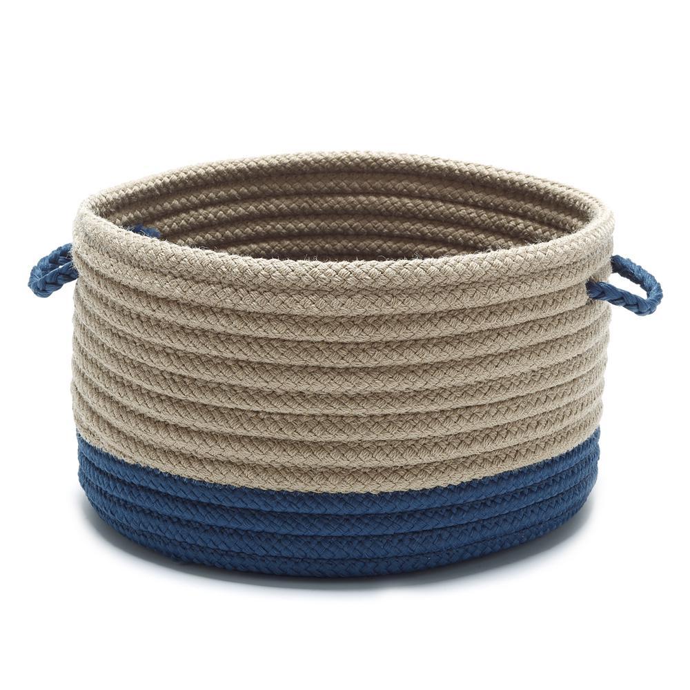 Harbor Jasmine Round Polypropylene Basket