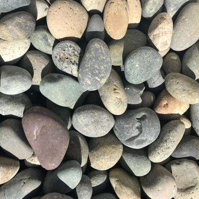 0.90 cu. ft., 75 lb., 1 in. to 2 in. Mixed Mexican Beach Pebble (40-Bag Contractor Pallet)