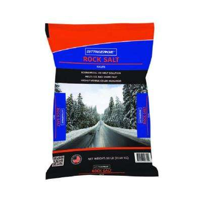 50 lb. Pro-Salt+ ; Screened Rock Salt with Corrosion Inhibitor, Anti-Caking Agent and Highly Visible Color Indicator
