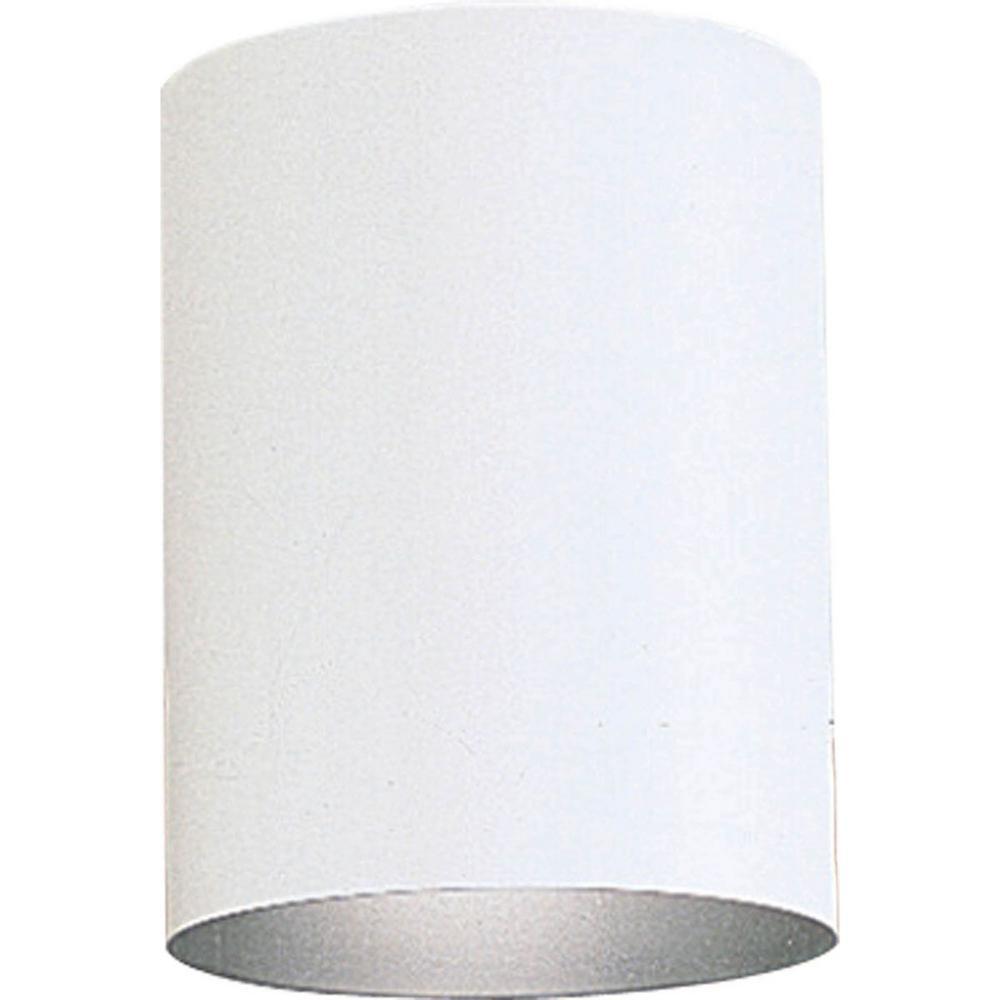 White Integrated LED Outdoor Flush Mount