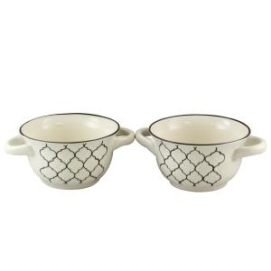 Crock Pot Mathiston 2-Piece White Soup Bowl by Crock Pot