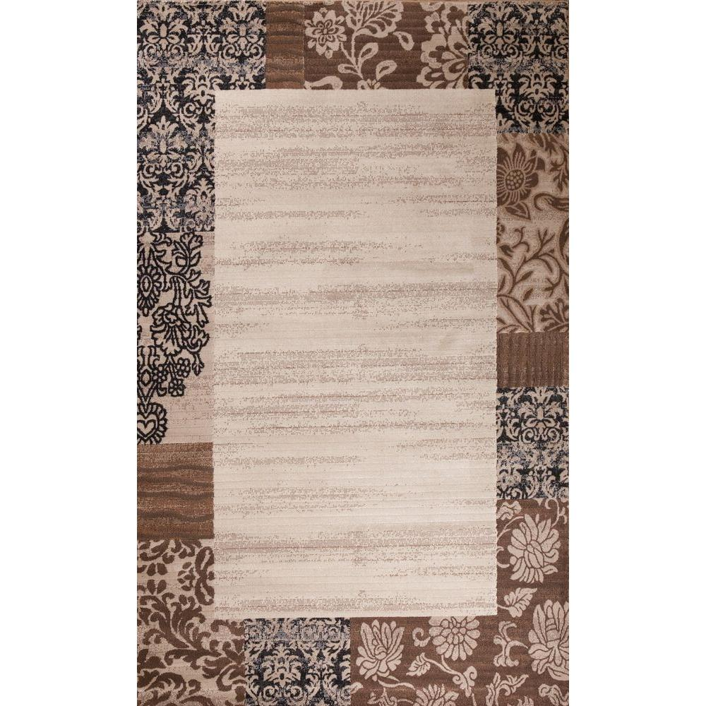 Matrix Collection Moda Ivory 7 ft. 10 in. x 10 ft.