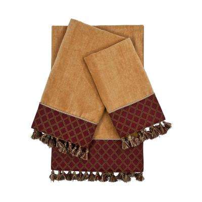 Brenda Nugget Embellished Towel Set (3-Piece)