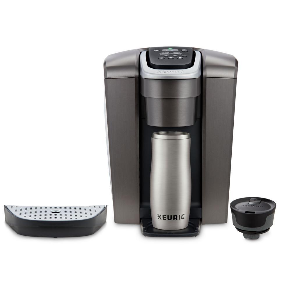 Keurig 5000197490 K-Elite Single Serve Brushed Slate Coffee Maker