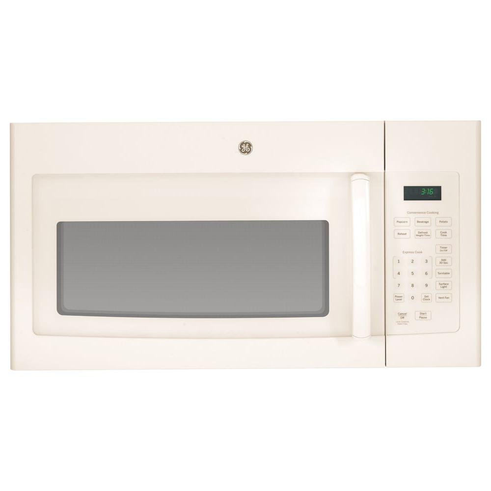 Ge 1 6 Cu Ft Over The Range Microwave In Stainless Steel Jvm3160rfss Home Depot