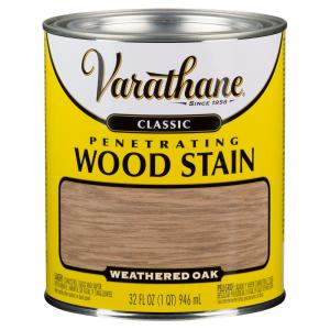 Varathane 1 Qt Weathered Oak Classic Wood Interior Stain 2 Pack 339716 The Home Depot