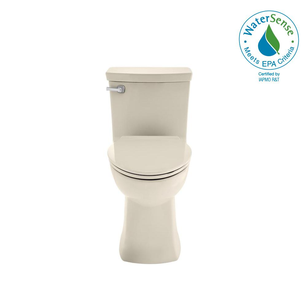 Townsend Vormax Tall Height 1-Piece 1.28/1.6 GPF Dual Flush Elongated Toilet