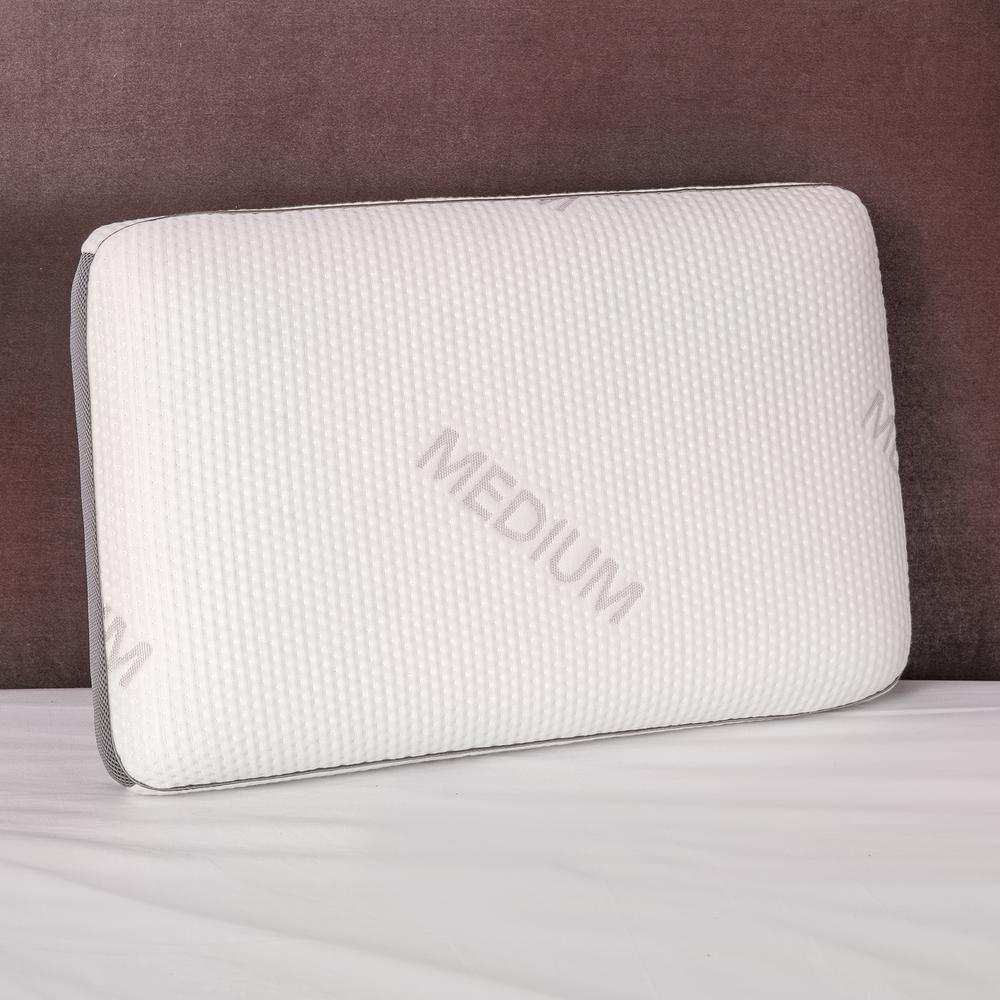 Density Memory Foam Medium Feel Standard Pillow