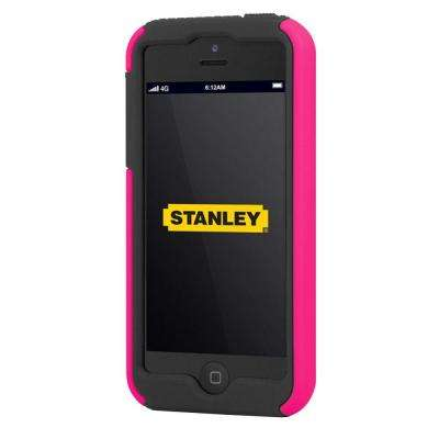 Highwire iPhone 5 Rugged 2-Piece Smart Phone Case - Pink and Black