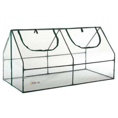 36 in. W x 71 in. D Ultra Deluxe Compact Outdoor Seed Starter Greenhouse Cloche
